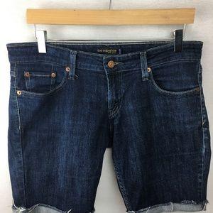 ☘️ Levi's too super low jean shorts
